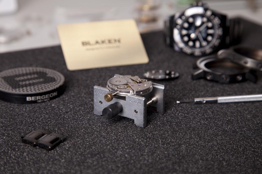BLAKEN GmbH_Zusammenbau der Uhr 2